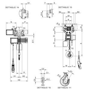 W1000 CE disegno