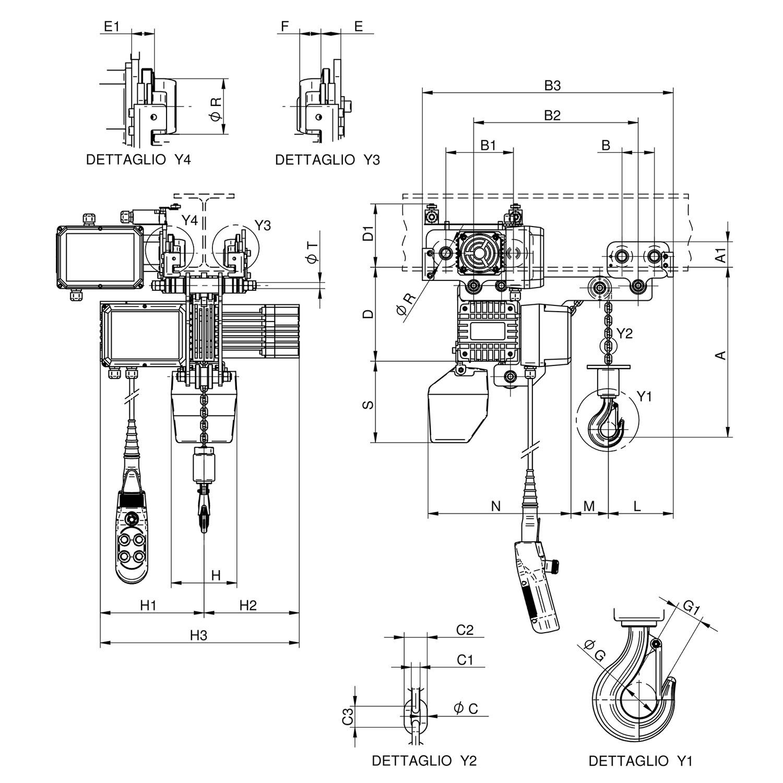 W500-RE disegno
