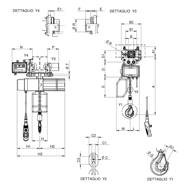 WR2000 CE disegno ITA