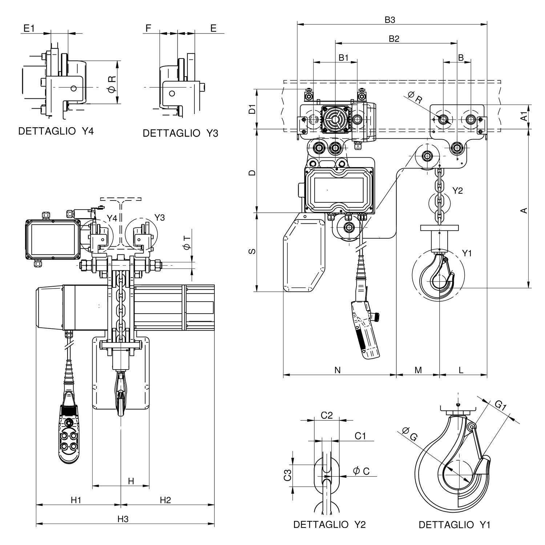 WR2000 RE disegno