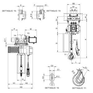 WR3000 T1 CE disegno
