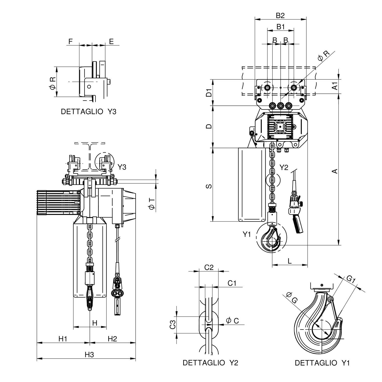 WR3000 T1 CS disegno