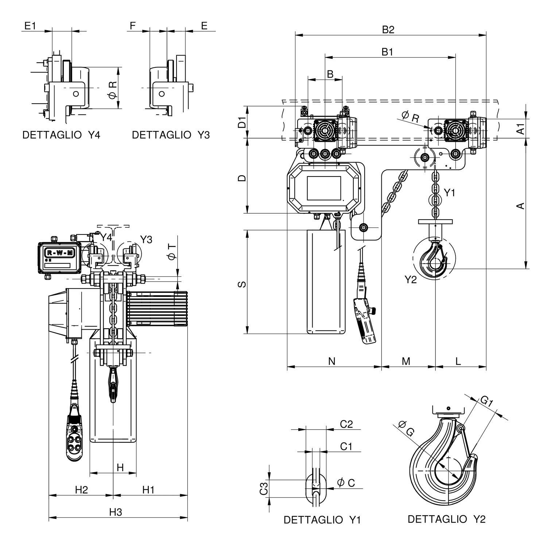 WR3000 T1 RE disegno
