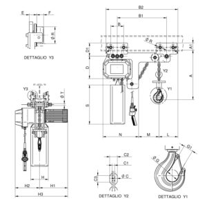 WR3000 T1 RS disegno