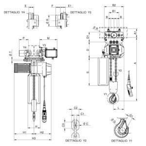WR3000 T2 CE disegno
