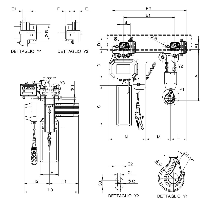 WR3000 T2 RE disegno