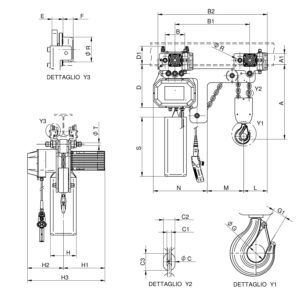 WR3000 T2 RS disegno